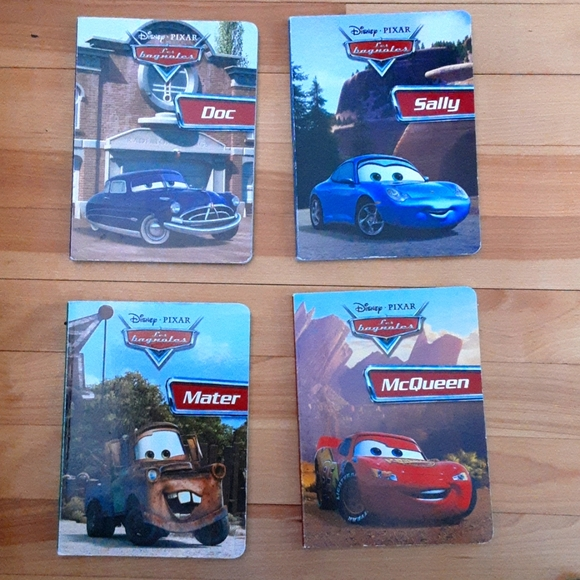 Disney Pixar cars book in french
